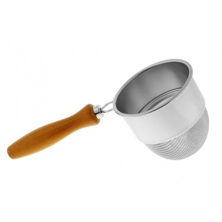 Japanese Strainer With Wooden Handle