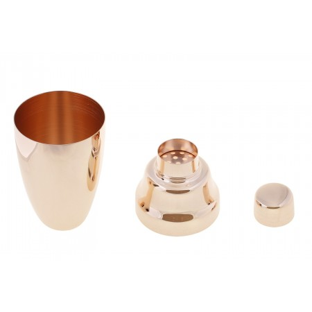 Yukiwa Cocktail Shaker 3pcs rose Gold