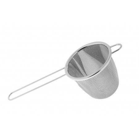 Japanese Strainer Stainless Steel Deep (short handle)