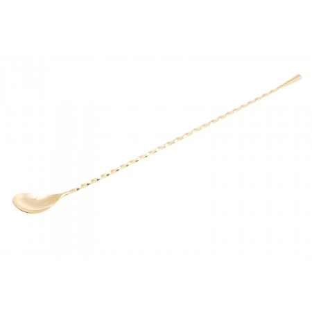 Yukiwa teardrop bar spoon Gold