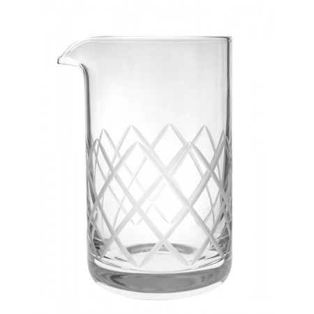 RONA Diamond cut Mixing glass