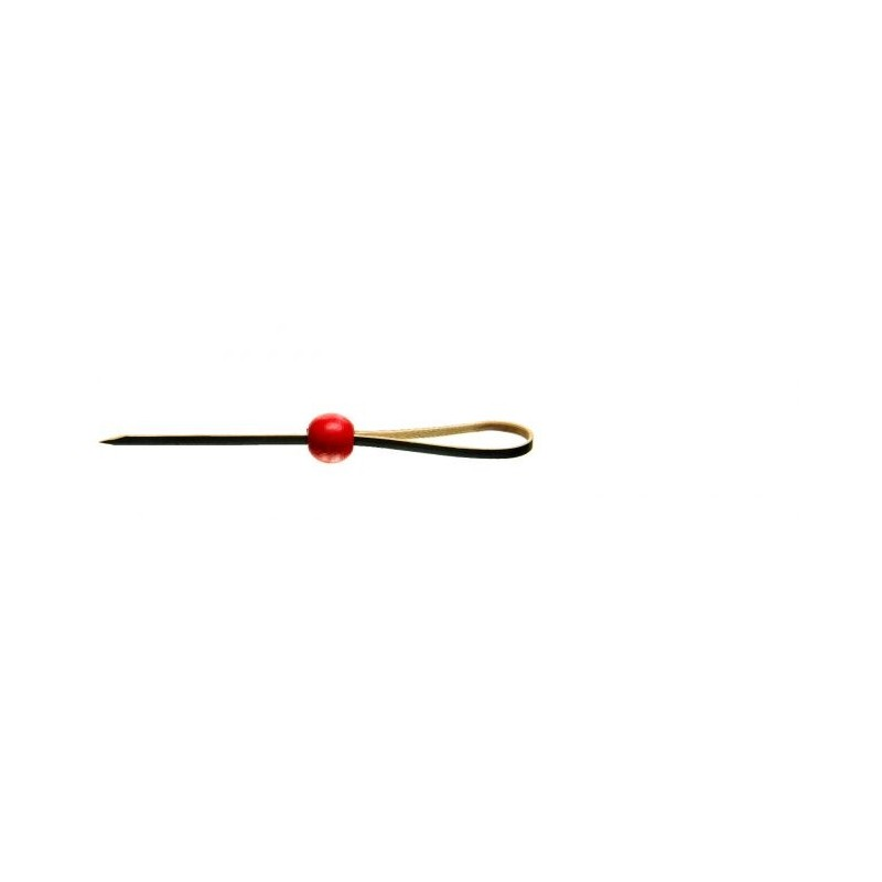 Black Noose & Red Ball Skewer 90mm 100pcs