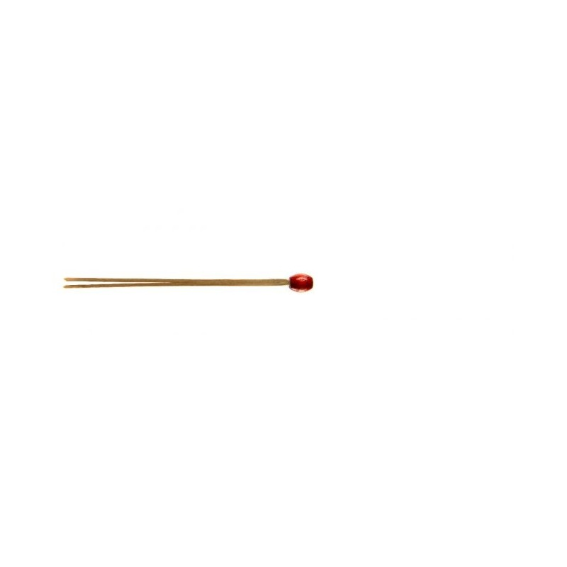 Beaded Red Matsubagushi Skewer 85mm 100pcs