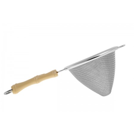 Japanese Conical strainer bamboo handle