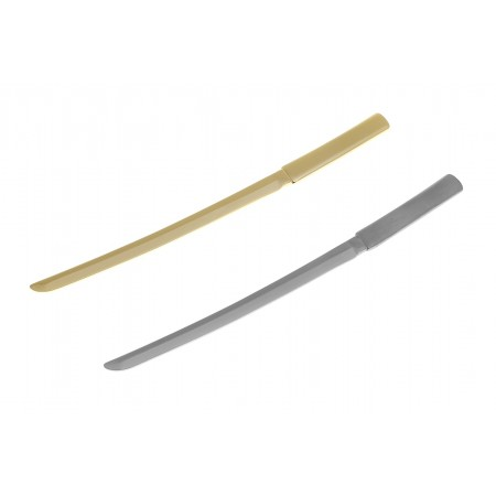 Olive garnish Katana pick Gold