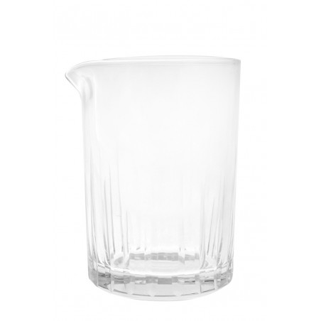 AOYAMA mixing glass with stripes