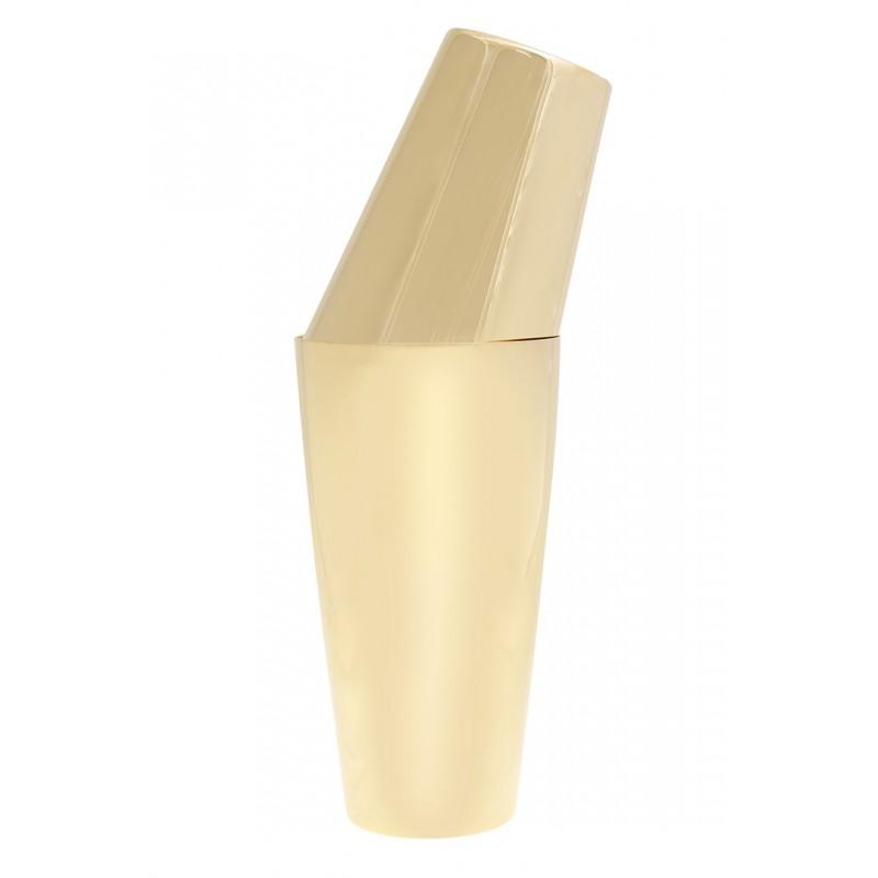 YUKIWA Tin/Tin Shaker U.S Gold