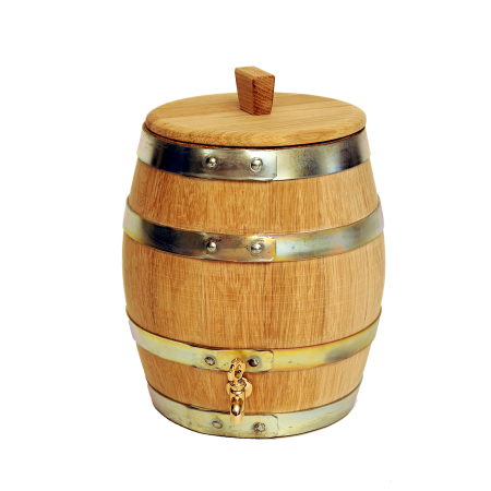 wooden vinegar barrel