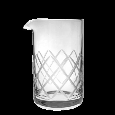 RONA Diamond cut Mixing glass