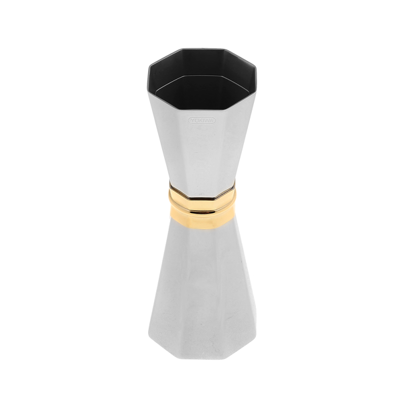 Yukiwa Octagon 30/45ml With Gold Ring