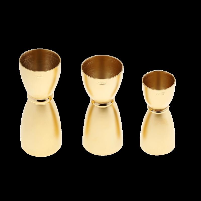 Yukiwa Bell jigger Gold Matte