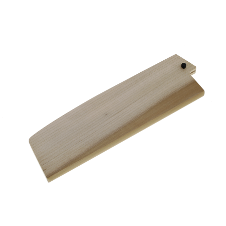 Saya Sheath For Nakiri Knife With Plywood Pin