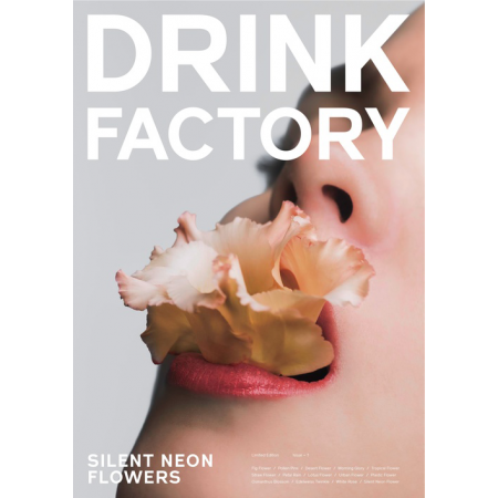 Drink Factory Magazine - Issue 1. silent neon flowers