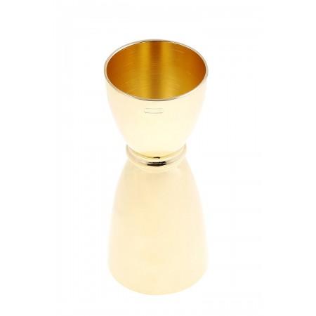 Yukiwa Bell jigger Gold