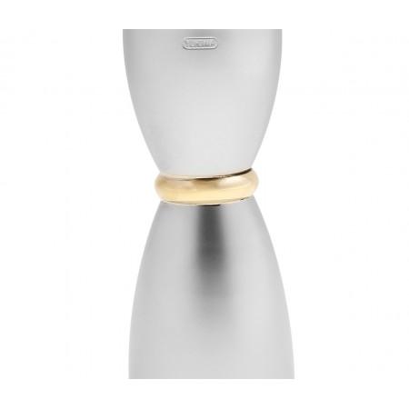 Yukiwa Jigger Bell Matte with Gold Ring