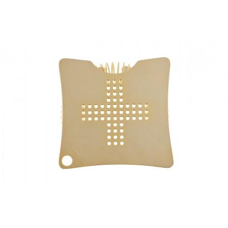 Yukiwa Square Strainer Gold