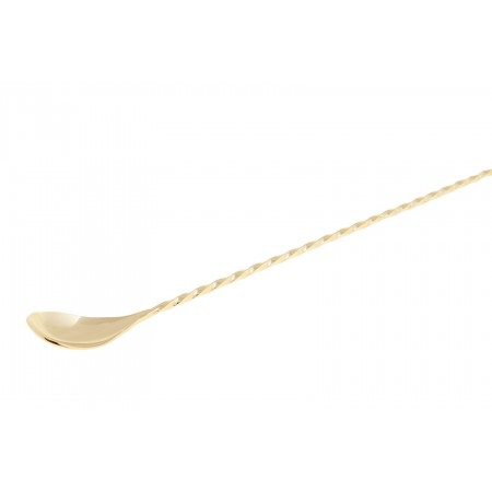 Japanese Bar spoon Fork/muddler Gold